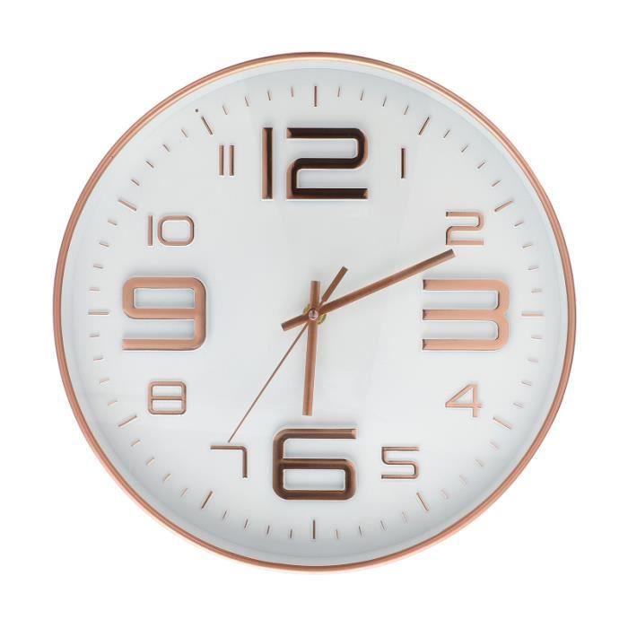 Creative Mute Clock Horloge murale à la mode de style moderne Décor de salon MECANISME D'HORLOGE - AIGUILLE D'HORLOGE
