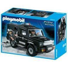 Playmobil- 5974- police et fourgon