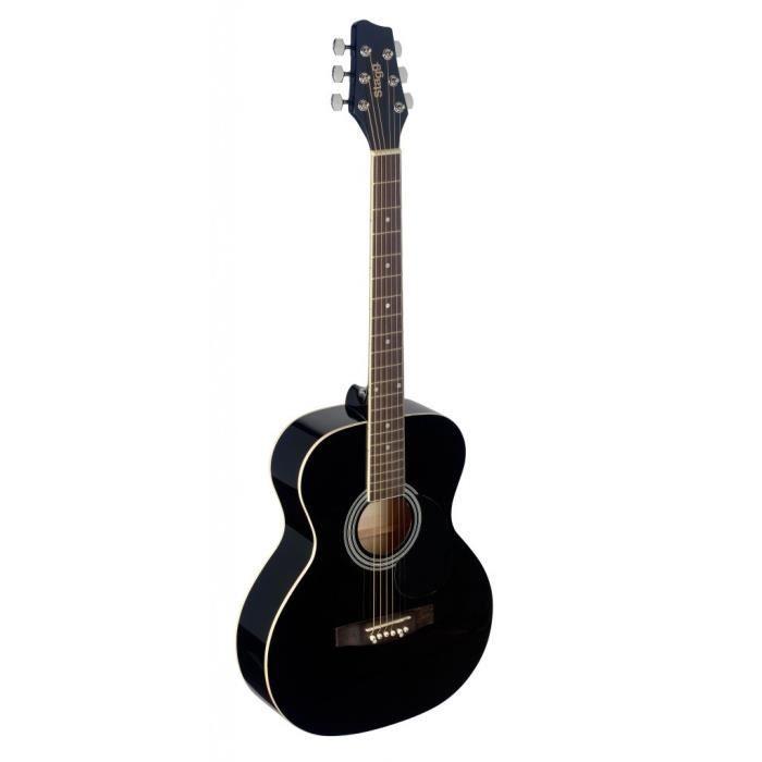 STAGG SA20A BLK Guitare Folk - Noir