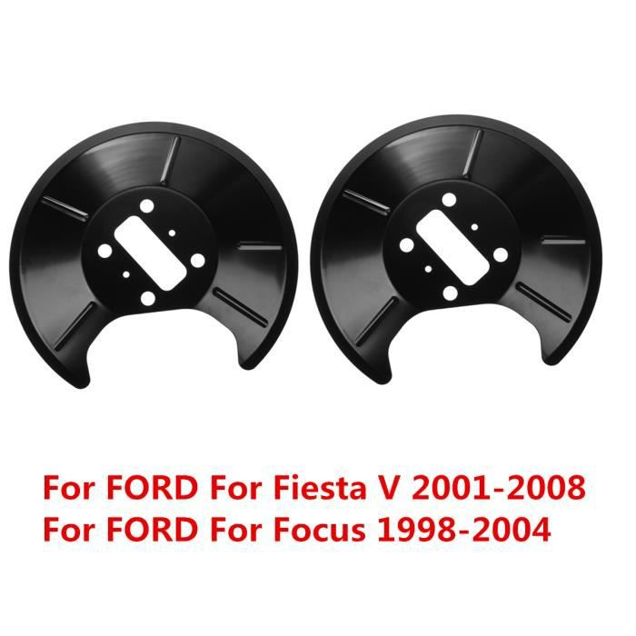 TEMPSA 2X Protection de Disque Frein Arrière Voiture pour Ford Fiesta V 2001-08 Focus 1998-2004