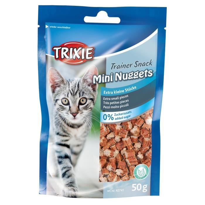 TRIXIE Trainer Snack Mini Nuggets pour chat - 50g