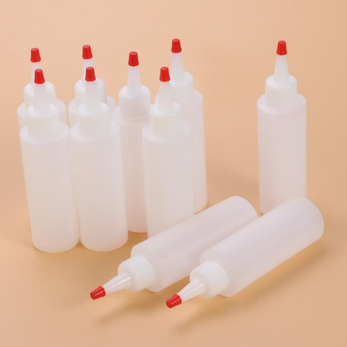 Ketchup Moutarde pour récipients à sauce Distributeurs d'huile avec bouteilles Twist Squirt DISTRIBUTEUR DE LIQUIDE VAISSELLE