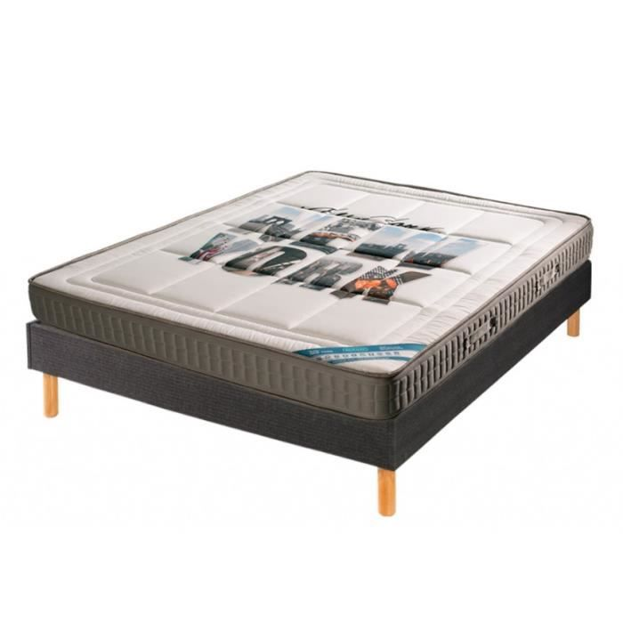 ensemble literie premium matelas 140x190 achat vente ensemble literie cdiscount. Black Bedroom Furniture Sets. Home Design Ideas