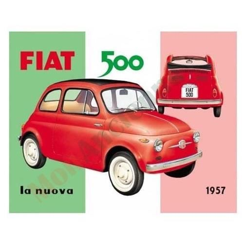 plaque fiat 500 achat vente plaque immatriculation plaque fiat 500 cdiscount. Black Bedroom Furniture Sets. Home Design Ideas