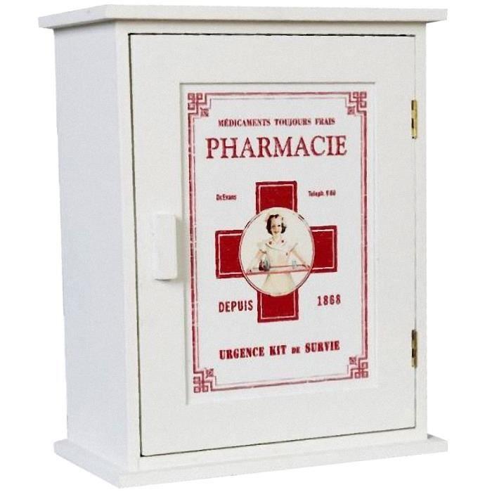 meuble mural pharmacie vintage achat vente petit. Black Bedroom Furniture Sets. Home Design Ideas