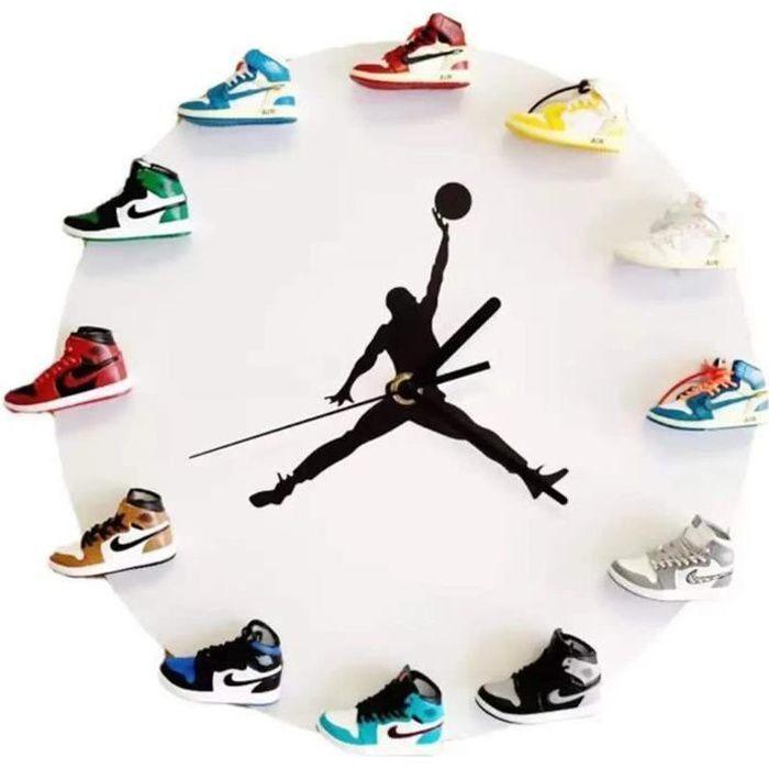 HORLOGE PENDULE Horloge Murale avec 112 Mini Baske