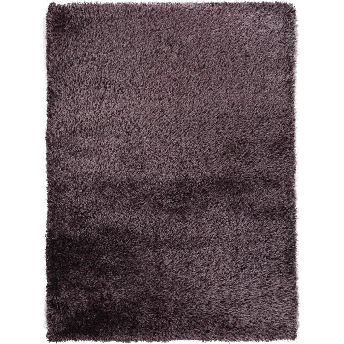 benuta tapis poils longs sophie mauve 200x290 cm achat vente tapis cdiscount. Black Bedroom Furniture Sets. Home Design Ideas
