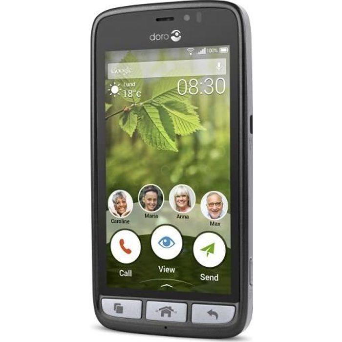 SMARTPHONE Doro 8030 Téléphone intelligent pour personnes âgé