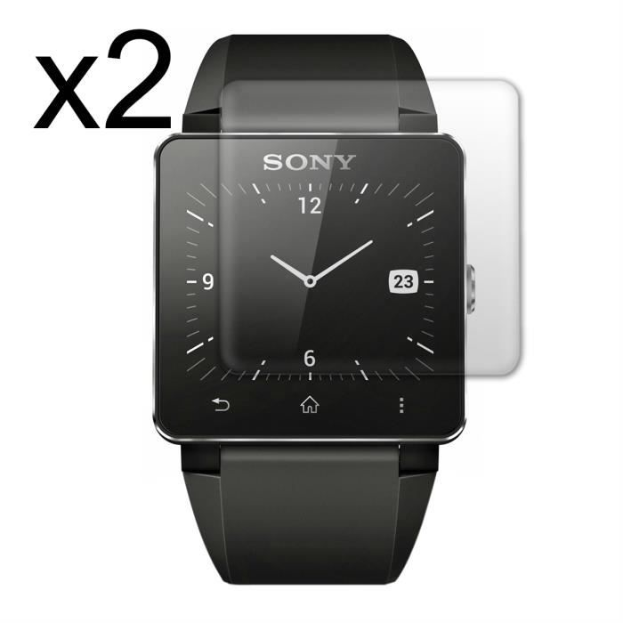2 film protection sony smartwatch 2 prix pas cher cdiscount. Black Bedroom Furniture Sets. Home Design Ideas