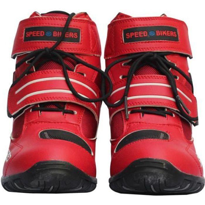 CHAUSSURE - BOTTE Chaussures moto Unisex Hors Route Motard demi Bott