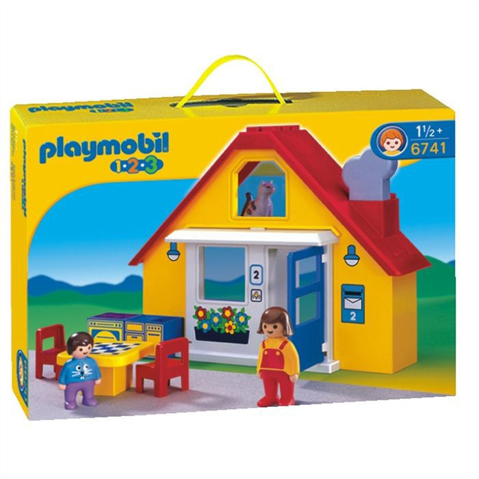 maison playmobil garcon achat vente jeux et jouets pas. Black Bedroom Furniture Sets. Home Design Ideas