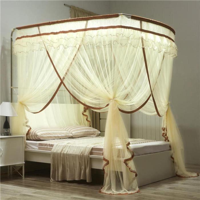 Ciel de lit Princesse,Canne à pêche Filets Moustiquaire de
