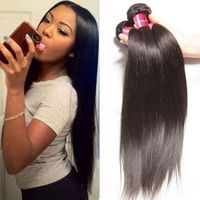 PERRUQUE - POSTICHE extensions cheveux 3 Bundles 150g Cheap Virgin Ind