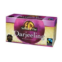 PAGES - Solidary Thé, 25 sachets Thé Darjeeling