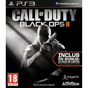 JEU PS3 Call of Duty Black Ops 2 : GOTY Edition
