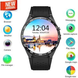 MONTRE CONNECTÉE Aihontai KW88 3G Smart Watch Téléphone portable to
