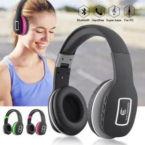 CASQUE - ÉCOUTEURS Casque Bluetooth sans Fil Réglable Écouteurs Audio