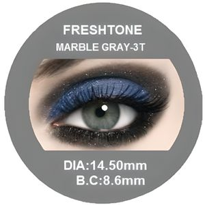 LENTILLES DE CONTACT Lentilles de contact de couleur MARBLE GRAY/ GRIS/