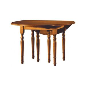 Table merisier achat vente table merisier pas cher for Table ronde allonges