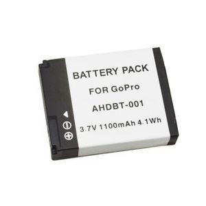 BATTERIE APPAREIL PHOTO AHDBT-001 3.7V 1100mAh Batterie pour GoPro Hero 2