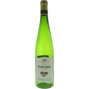 VIN BLANC Pinot gris Vin d' Alsace - Blanc sec - 75 cl