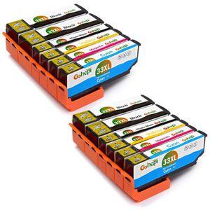 CARTOUCHE IMPRIMANTE 12 Pack Compatible EPSON 33XL T3351 T3361 T3362 T3