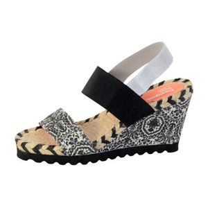 SANDALE - NU-PIEDS Sandale Desigual 74SSDC5 Ibiza Save The Queen