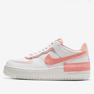 Air force 1 fille blanche rose - Cdiscount
