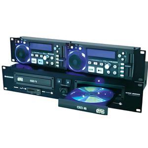 PLATINE DJ Double lecteur CD-MP3 Omnitronic XDP-2800