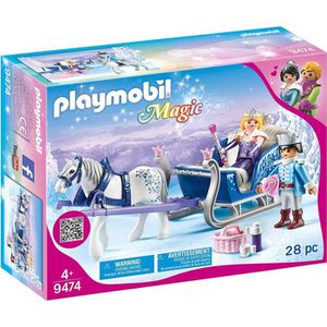 UNIVERS MINIATURE PLAYMOBIL 9474 - Magic - Couple royal et calèche -