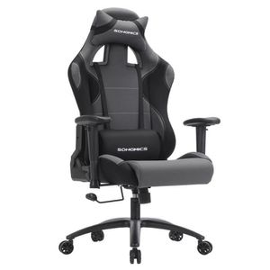 SIÈGE GAMING Songmics® Fauteuil Baquet Gaming Chaise gamer bure
