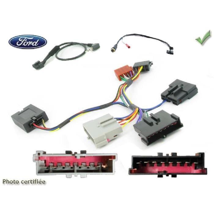 Interface Cde au volant Ford Fiesta/ Focus/ Escort/ Galaxy/ Mondeo Kenwood - ADNAuto - ADN-CAV