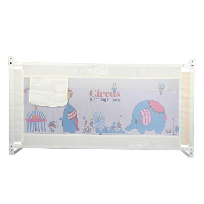 Barrière de lit de bébé(1,5 m)-TIP