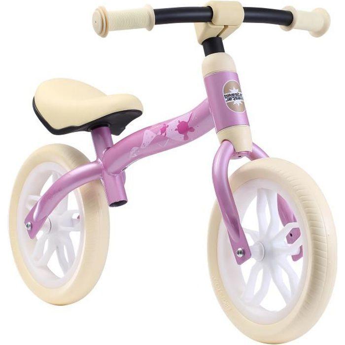BIKESTAR - Draisienne - 10 pouces - pour enfants de 2 ans - Édition Lightrunner - garçons et filles - Rose