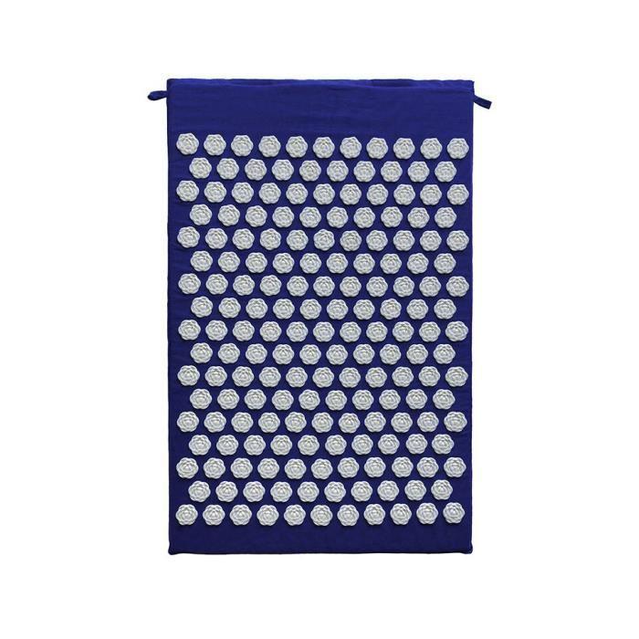 Tapis acupression en forme de Lotus, soulage la douleur et le Stress, accessoire de Yoga~Blue White Pad JM96911875