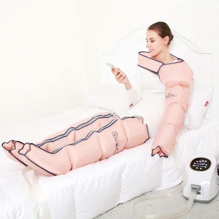 THALASSO PIEDS - THALASSO MAINS Naturl Appareil de Massage pour Jambes Et Les Pieds Pressoth&eacuterapie Machine de Drainage 24
