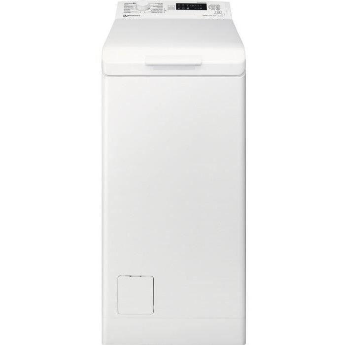 Lave-linge top ELECTROLUX EWT1262WD - 6 kg - 1200 trs/min - Blanc