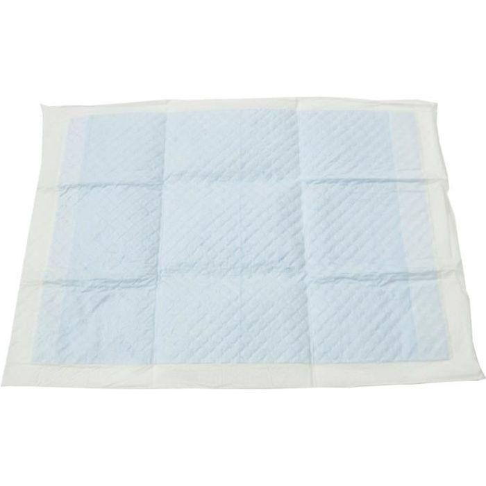 IRIS OHYAMA Lot de 60 tapis d'apprentissage à la propreté Pet Pad - NS-60R - 45 x 33 cm - Pour chiot