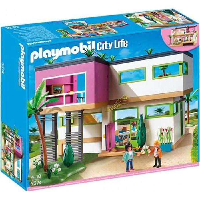 PLAYMOBIL 5574 City Life - Maison Moderne