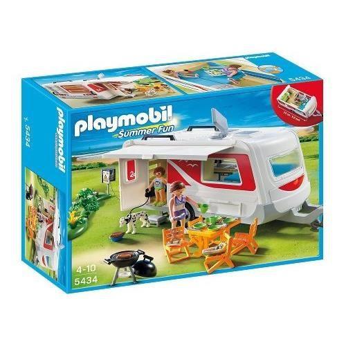 PLAYMOBIL - 5434 - FIGURINE - CARAVANE…
