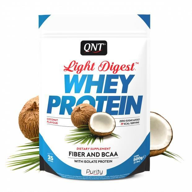 Light Digest Whey Protein Noix de coco 500 g