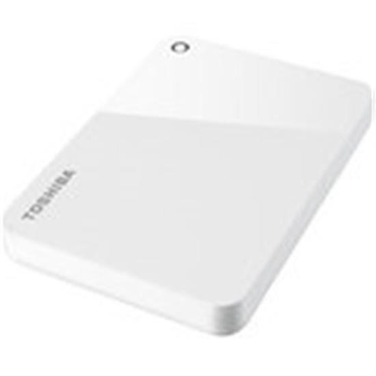 Toshiba Canvio Advance 4 To Blanc - Disque dur externe 4 To 2.5- USB 3.0 ( Catégorie : Disque dur externe )