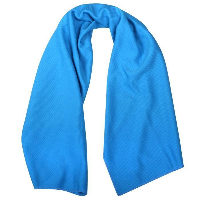 TRIXES Serviette Rafraîchissante Bleue pour Sports et Fitness