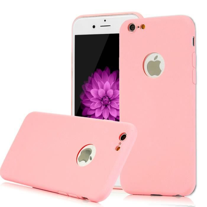 coque iphone 6 rose claire