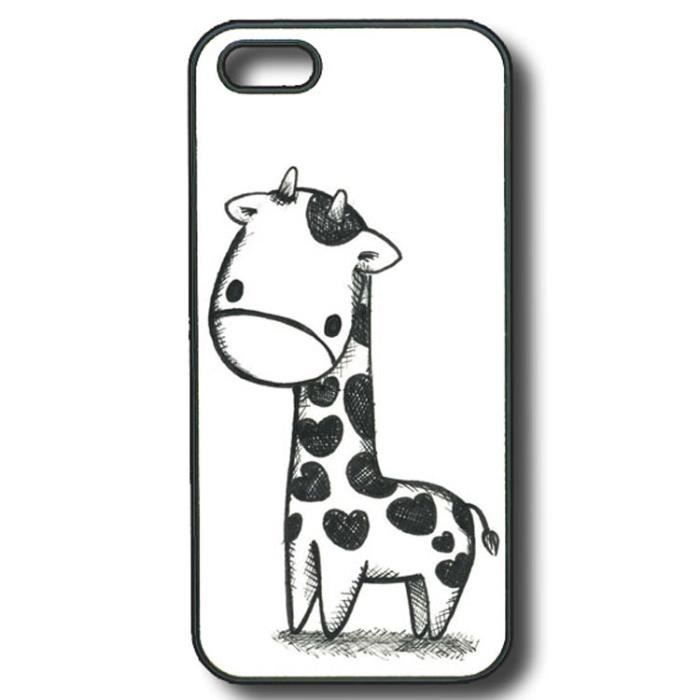 coque iphone 5 girafe