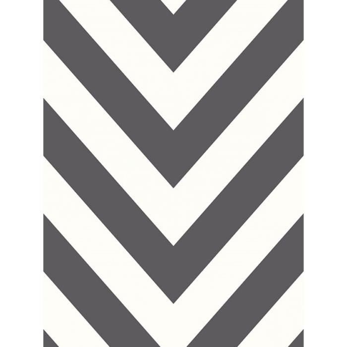 chevron zig zag fond d 39 cran noir blanc holden 12574 achat vente papier peint chevron zig. Black Bedroom Furniture Sets. Home Design Ideas