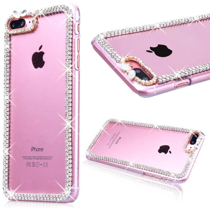 coque iphone 7 plus bling bling