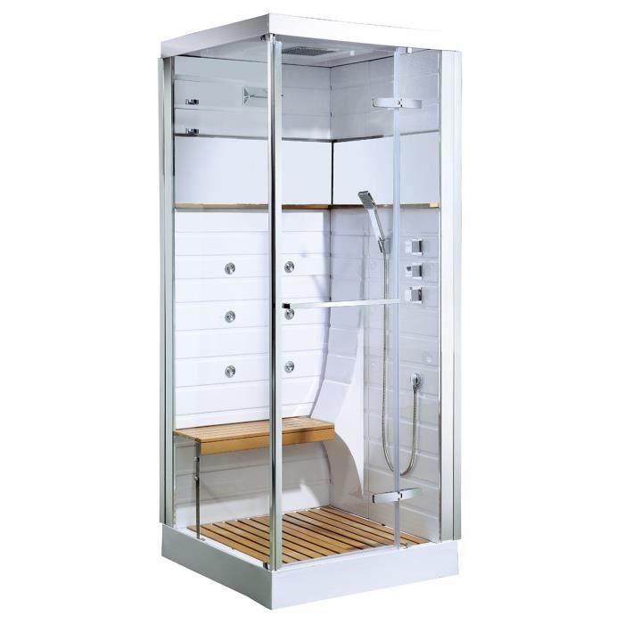 CABINE DE DOUCHE Cabine de douche Osaka avec porte pivotante 90 x 9