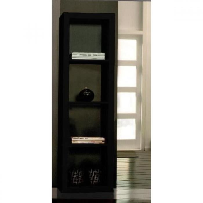 gloss bibliotheque etagere laque noir design pe achat vente biblioth que gloss bibliotheque. Black Bedroom Furniture Sets. Home Design Ideas