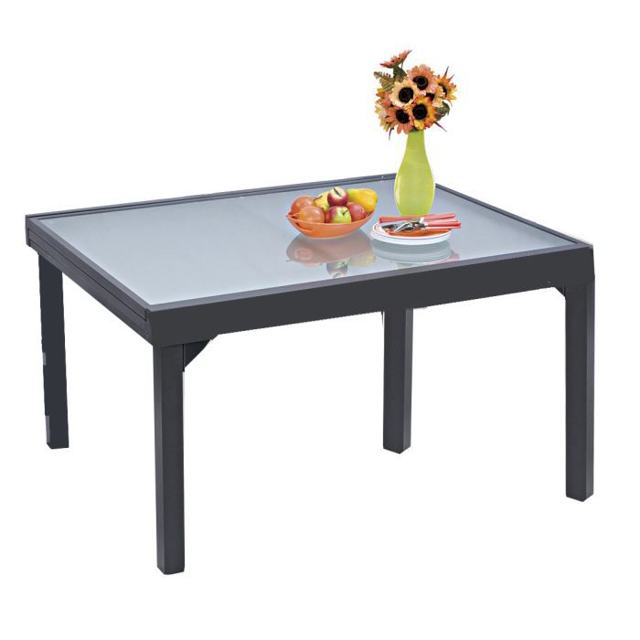 table de jardin 135 270 modulo 6 10 personnes achat vente table de jardin table de jardin. Black Bedroom Furniture Sets. Home Design Ideas
